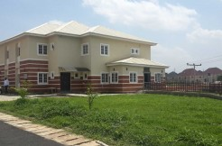 A brand new 6-bedroom semi-detached duplex with 2-room bq at Amina Court,