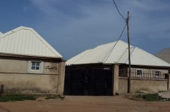 4-units of brand new 2-bedroom bungalow in a gated compound for sale at Kubwa, Abuja.